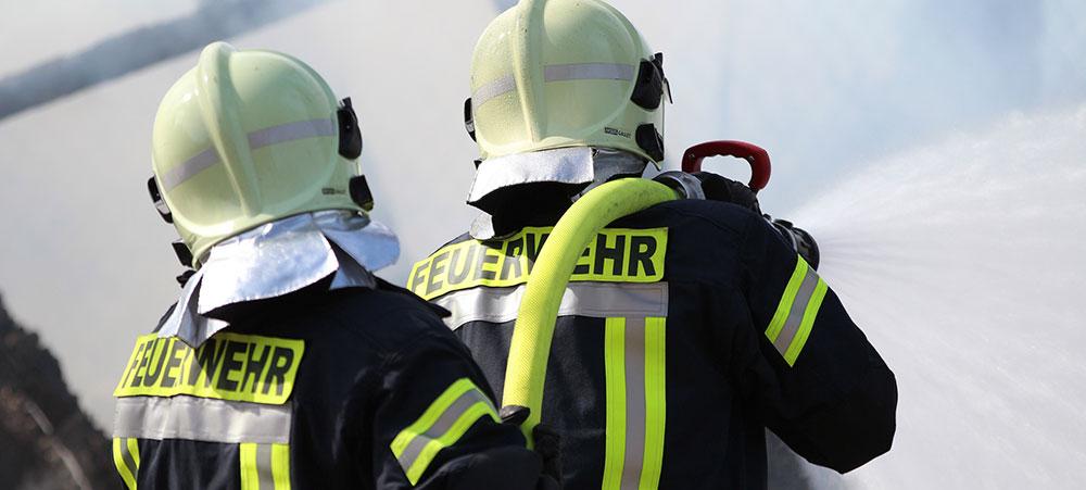 Einbaufertig vorkonfektionierte Brandschutzplatten